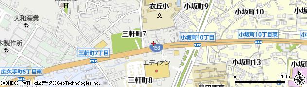 アンジェリーク周辺の地図