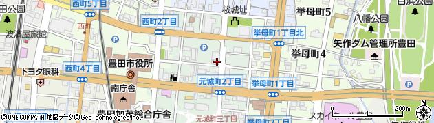 ぼんやり周辺の地図