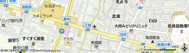 長翁寺周辺の地図