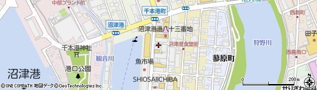 カキ小屋 沼津店周辺の地図