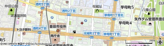ローズマリー周辺の地図