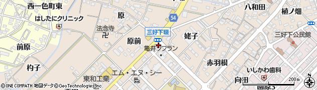 スナックカルダン三好店周辺の地図