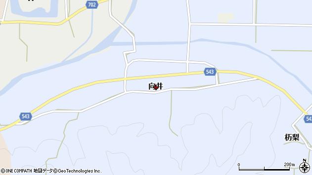 〒669-2526 兵庫県丹波篠山市向井の地図