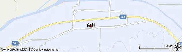 兵庫県丹波篠山市向井周辺の地図