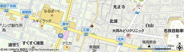 愛知県名古屋市緑区鳴海町(花井町)周辺の地図