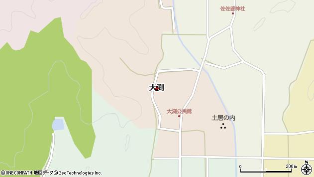 〒669-2309 兵庫県丹波篠山市大渕の地図