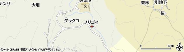 愛知県豊田市上脇町(ノリゴイ)周辺の地図
