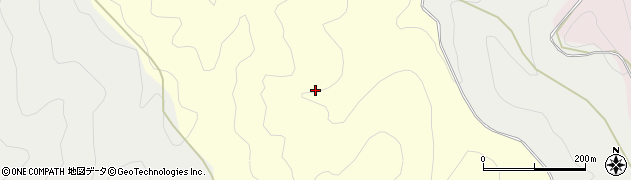 京都府京都市右京区梅ケ畑雲心寺西平周辺の地図