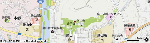 玉雲宮周辺の地図