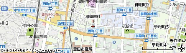 びつくりや周辺の地図