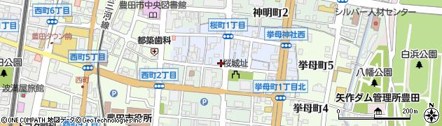 ほっかいどう周辺の地図