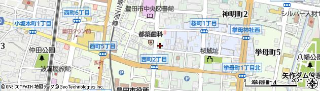 てんぷら・いわ井周辺の地図