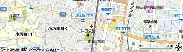 ジャズルームキーボード周辺の地図
