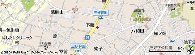 白樺周辺の地図