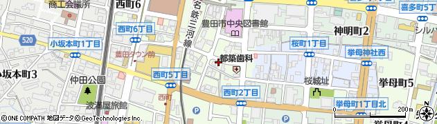 かつら周辺の地図