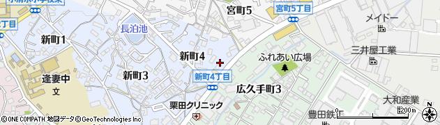 ダディー周辺の地図
