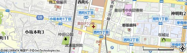 クラブ・ロイヤル周辺の地図