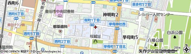 BEAT周辺の地図