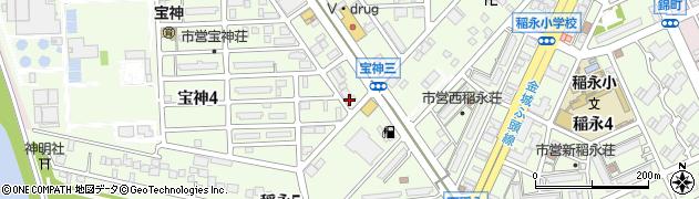 喫茶ルパン周辺の地図
