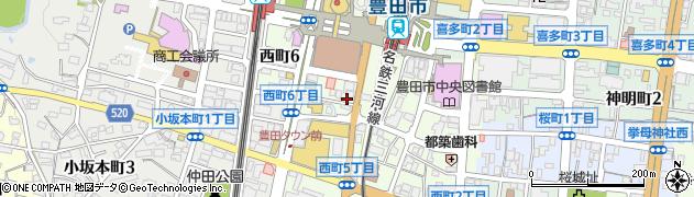 きらり周辺の地図