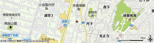 愛知県名古屋市緑区鳴海町(石田)周辺の地図