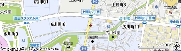 ベントマン 広川店周辺の地図