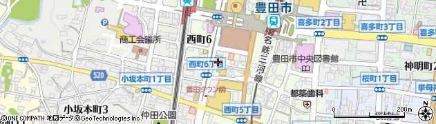 ジュピター.周辺の地図