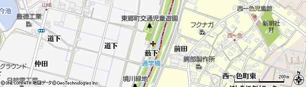 愛知県愛知郡東郷町春木薮下周辺の地図
