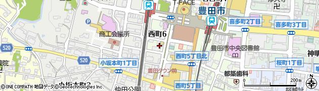 彩蔵周辺の地図