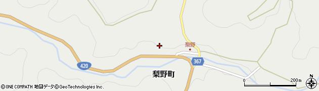 愛知県豊田市梨野町(横畑)周辺の地図