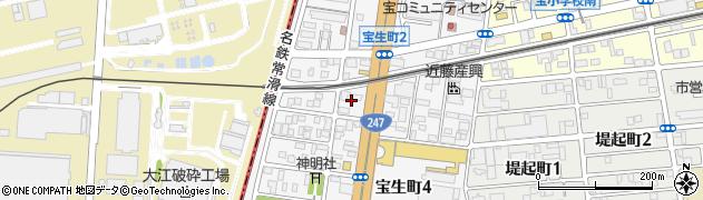 ジャスト周辺の地図