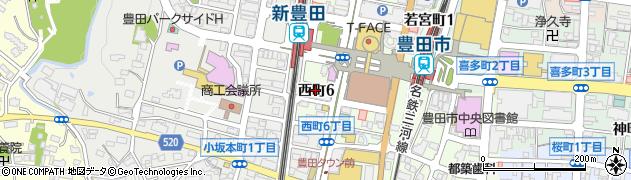 楽天家周辺の地図