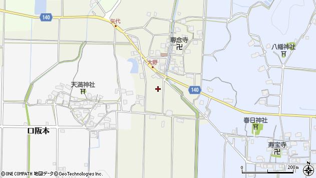 〒669-2355 兵庫県丹波篠山市大野の地図