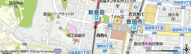 ミネマツ屋周辺の地図