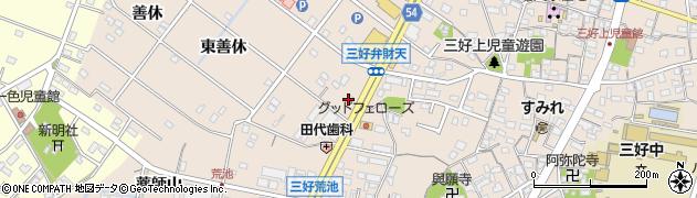 愛知県みよし市三好町(折坂)周辺の地図