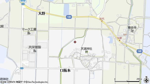 〒669-2723 兵庫県丹波篠山市口阪本の地図