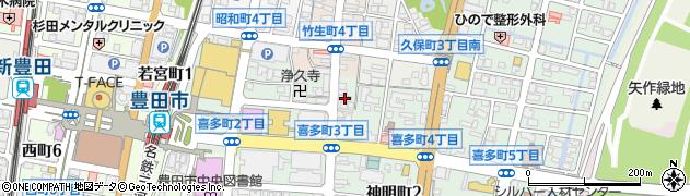 ザナリー(XaNaLy)周辺の地図