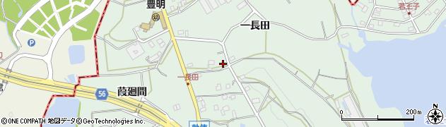 愛知県豊明市沓掛町(一長田)周辺の地図