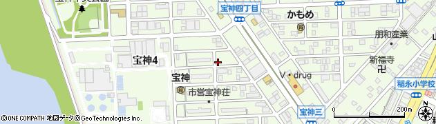 さそり座周辺の地図