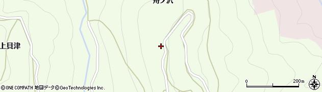 愛知県北設楽郡東栄町西薗目若竹周辺の地図