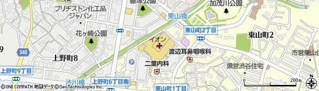 久善周辺の地図