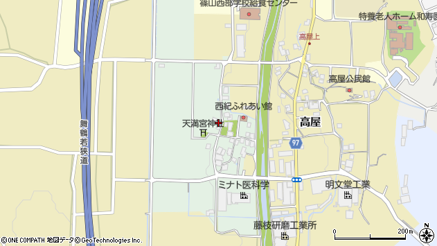 〒669-2735 兵庫県丹波篠山市川西の地図