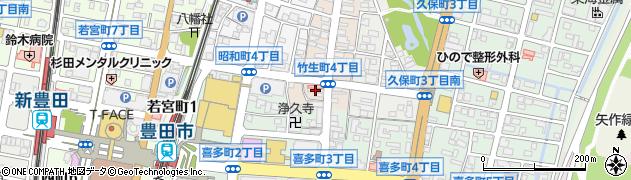 イブ周辺の地図