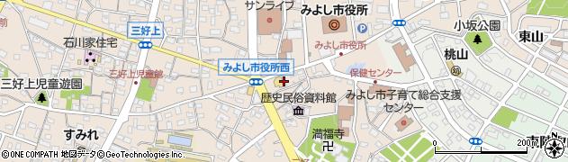 ドルフィン21周辺の地図