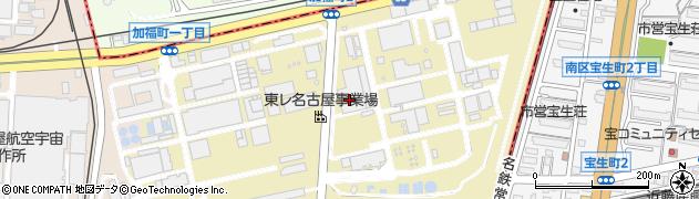 愛知県名古屋市港区本星崎町(北)周辺の地図