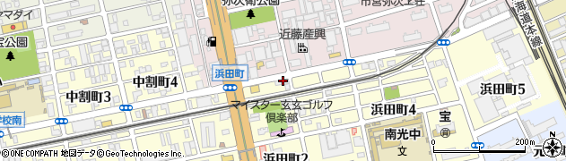ZIZIBABA周辺の地図