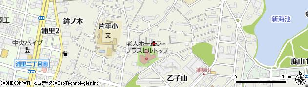 愛知県名古屋市緑区鳴海町(三高根)周辺の地図