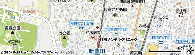 カフェチャンプール周辺の地図