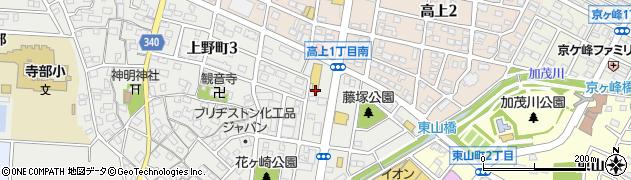 さぼてん加茂川デリカ周辺の地図