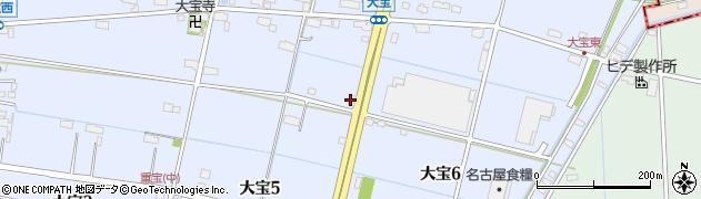たてまつ周辺の地図